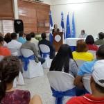 Ingenieros y arquitectos interesados en disminuir vulnerabilidad sísmica de construcciones de San Cristóbal
