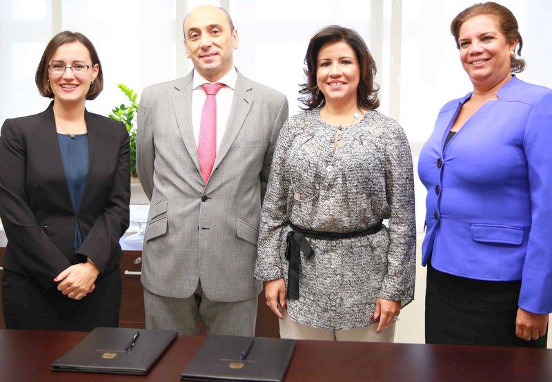 Margarita Cedeño, Lorenzo Jiménez de Luis, Luciana Mermet y Rosa María Suárez.