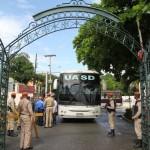 """Gremios de la UASD llevan reclamos al Palacio en """"visita"""" de cortesía a Danilo Medina"""
