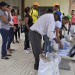 Estudiantes de la FCS-UASD y Salud Pública realizan jornada contra el zika