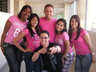 Estudiantes de Comunicación Social de la PUCMM.