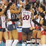 """""""Las Reinas del Caribe"""" enorgullecen a los dominicanos al vencer al invicto de Puerto Rico"""