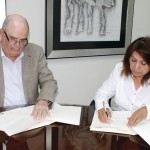 El AG de RD firma convenio con el Archivo de Ecuador