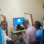 Uasdianos con computadoras nuevas y acceso más rápido a la Internet
