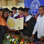 UASD Bonao gradúa 210 profesionales para completar 2,739 desde 1996