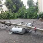 Huracán Matthew provoca daños en la UASD