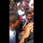 Estudiantes de la Universidad Evangélica protestan por incremento de la matrícula