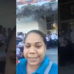 Profesora denuncia que Agora Mall impide la entrada a 130 estudiantes de escuela pública de Puerto Plata