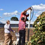 Energía y Minas, el Servicio Geológico y el IBII estudian gas que emana de Villa Tapia