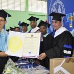 UASD gradúa 132 nuevos profesionales en Hato Mayor