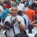 Huelga de profesores de la UASD provoca violencia; hieren fotorreportero