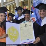 Joanna Mercedes Cruz Rodríguez se distingue en graduación de UASD Puerto Plata