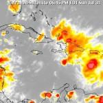 Más lluvias por onda con 40% posibilidad de convertirse en ciclón