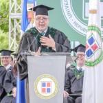 Rector Isfodosu exhorta a profesionales a vigilar 4% de educación