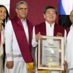 La UNEV otorga Doctorado Honoris Causa a  Humberto Martín Shikiya