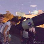 Niños y jóvenes disfrutaron con sus padres del Festival de Los Planetas