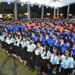 UNPHU inviste 571 nuevos profesionales en diferentes áreas