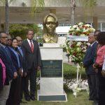 La UASD que firma un acuerdo de cooperación con el PRSC de Balaguer, rindió un homenaje a Sagrario Díaz, asesinada durante su gobierno