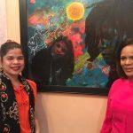 Monte Plata acoge exposición pictórico literaria Portadoras de Luz III