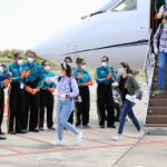 Retornan 126 estudiantes de Medicina desde Cuba por crisis de la COVID-19