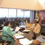 UASD discute medidas para reintegrar su personal administrativo