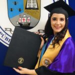 Estudiante de Villa Tapia se gradúa con honores en Unibe