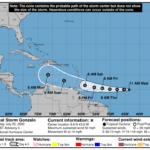 La Onamet vigila la penca tormenta Gonzalo que podría convertirse en huracán